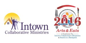 Intown & arts eats logo for kingma posting